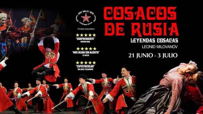 The Russian Cossacks arrive in Madrid