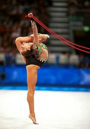 Kabaeva kicks off the World Cup